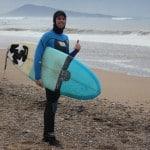 Surf en hiver dans le Pays basque: la video