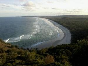 byron bay plage tallow beach