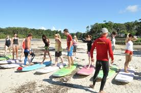 surf camp en australie