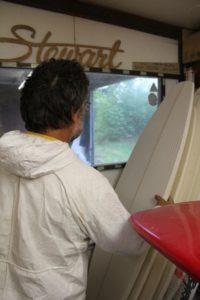 shaper planche de surf hossegor