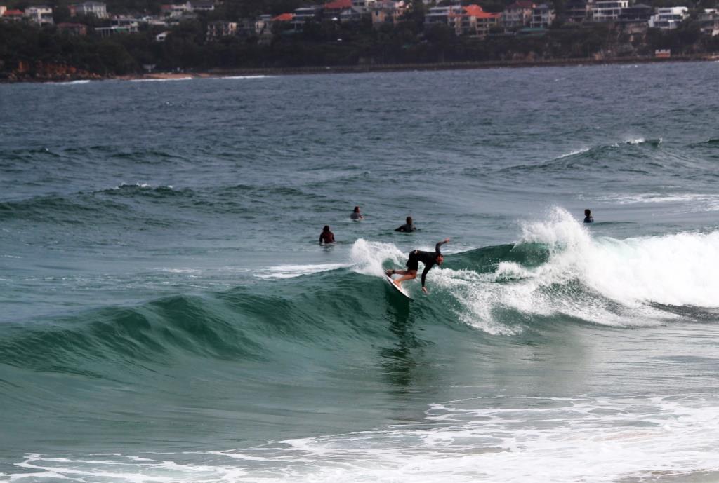surf backside snap