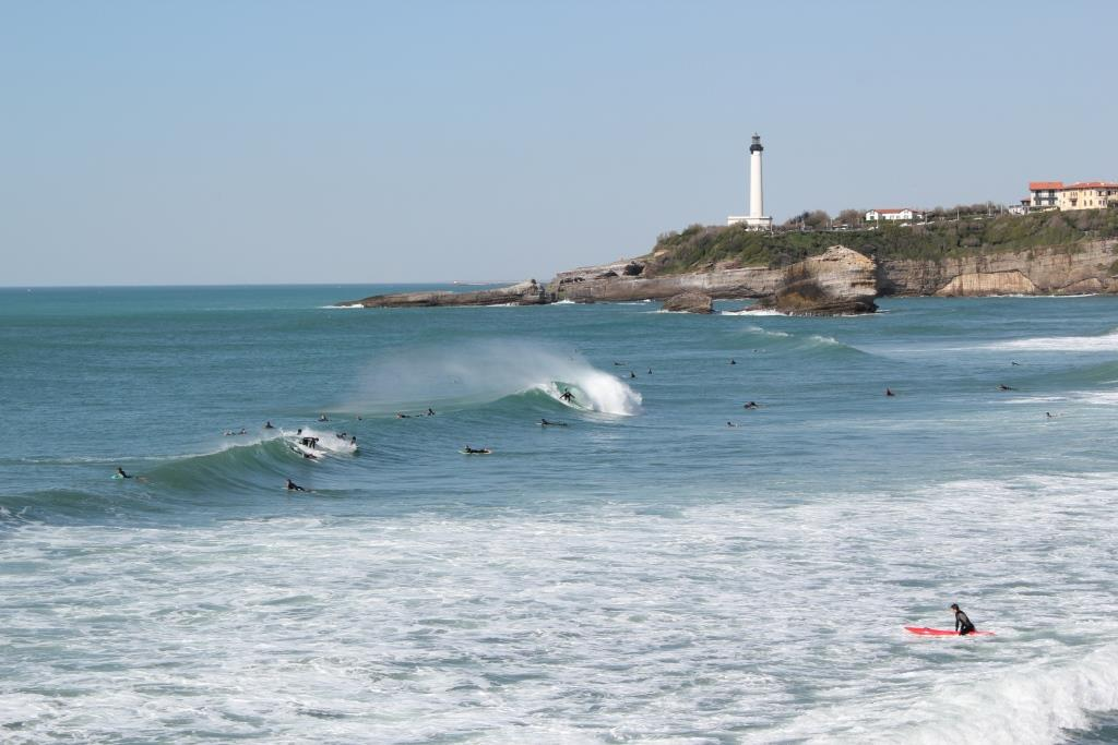 surf session offshore biarritz